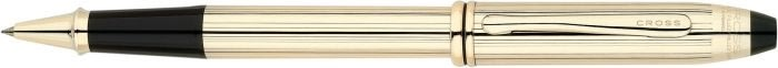 Cross Townsend Rollerball, 10 kt Rolled Gold