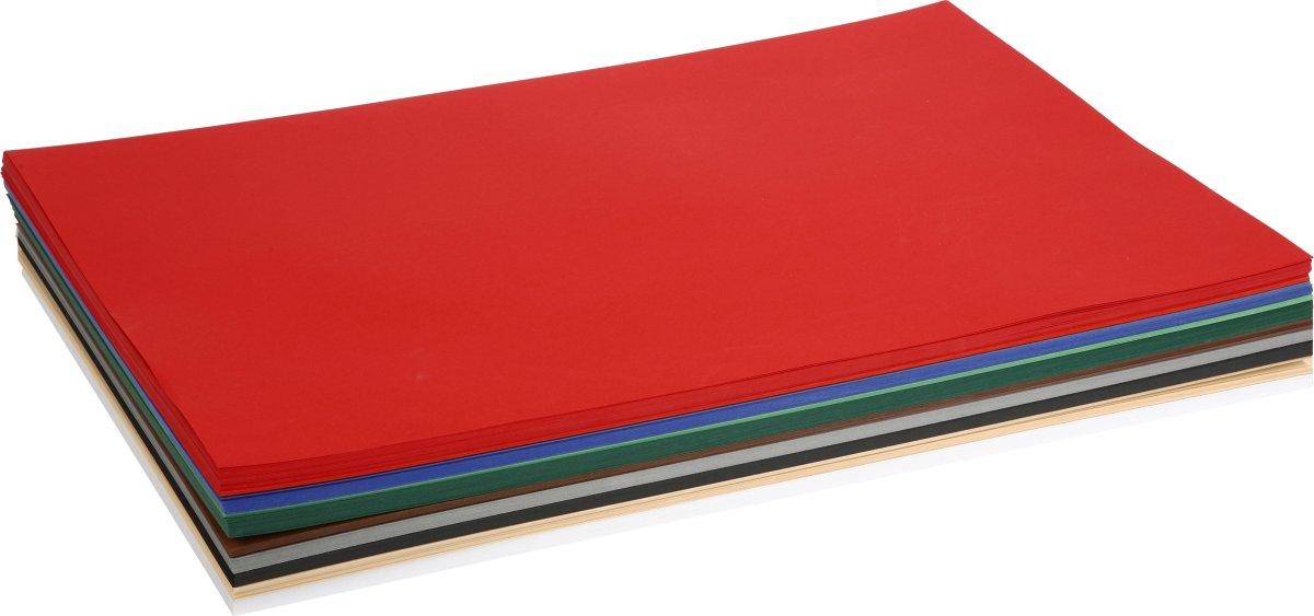 Colortime Julekarton, A2, 180g, 300 ark, ass.