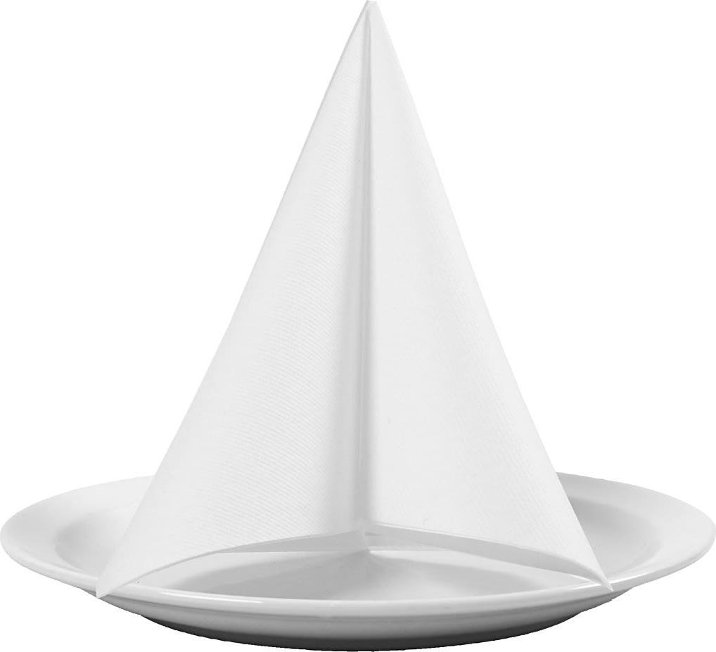 Happy Moments Middagsserviet, hvid, 20 stk