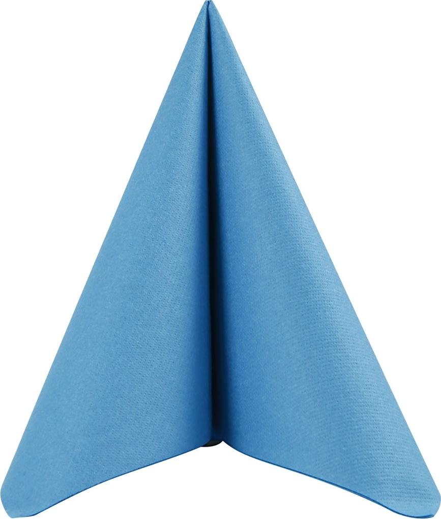 Happy Moments Middagsserviet, blå, 20 stk