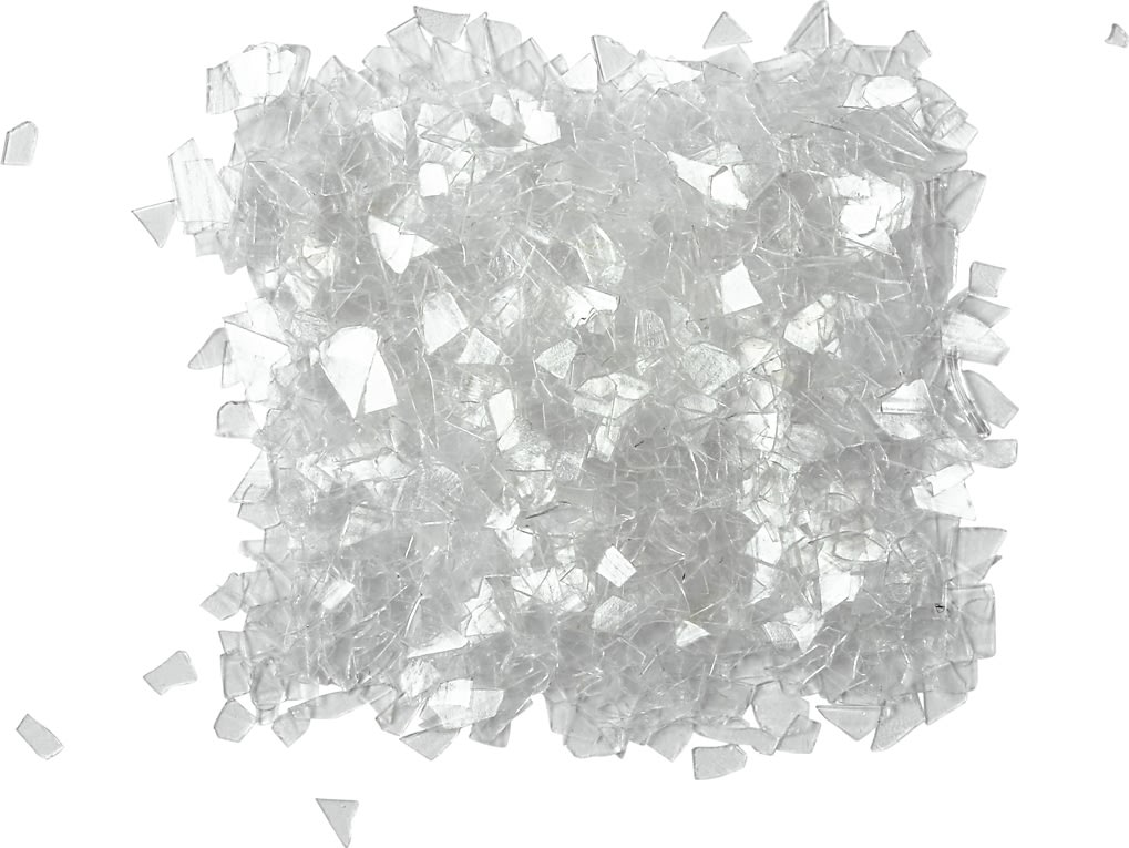 Glitterflager, transparent, 30 g