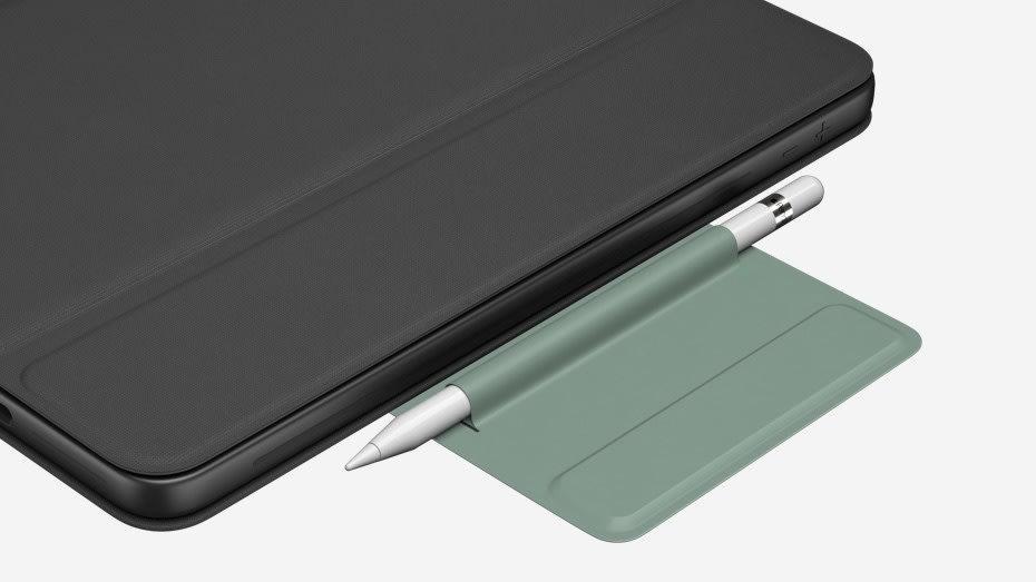 Logitech Rugged Folio cover med tastatur, sort