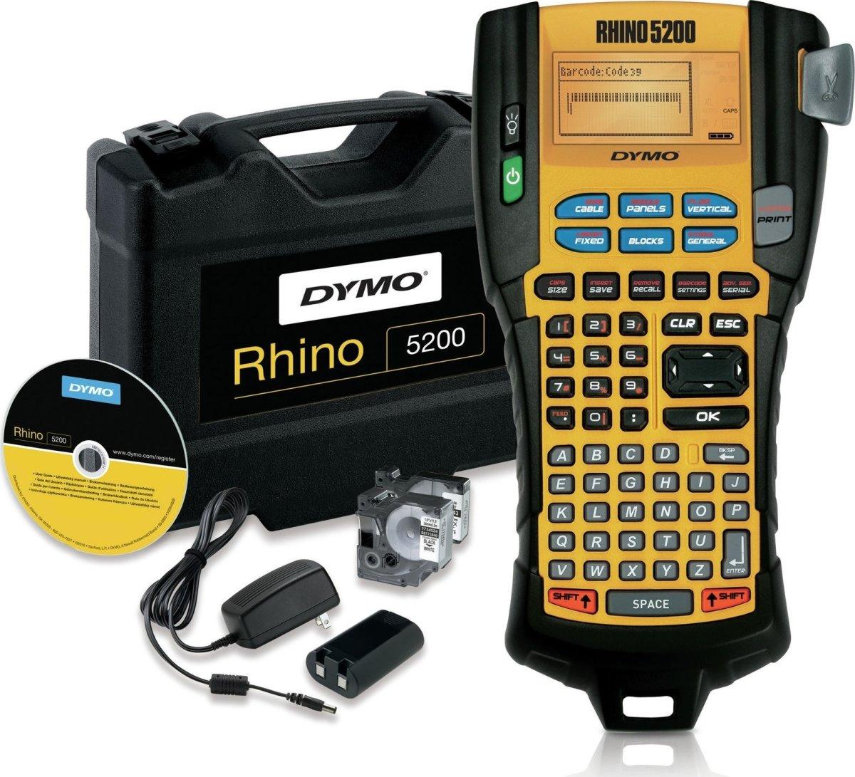 Dymo Rhino 5200 Kuffertsæt