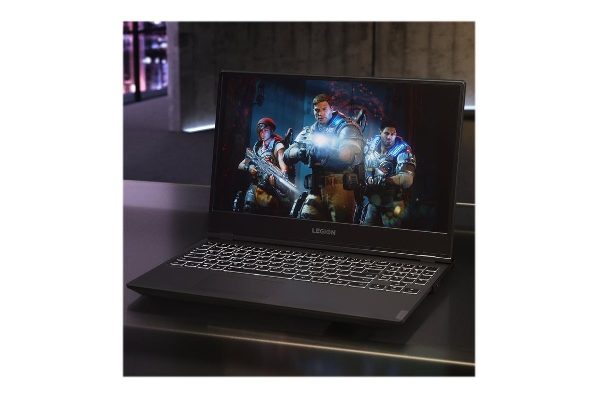 Lenovo Legion Y540-15IRH gaming bærbar pc, sort