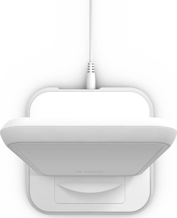 ZENS trådløs Qi bordlader, 220V 10W, hvid