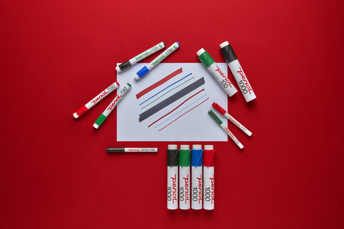 Penol 770 Tekstil Marker | Sort
