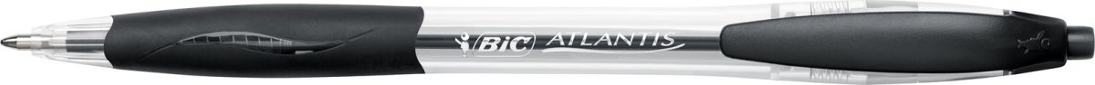 BiC Atlantis Classic Kuglepen | 0,7 mm | Sort