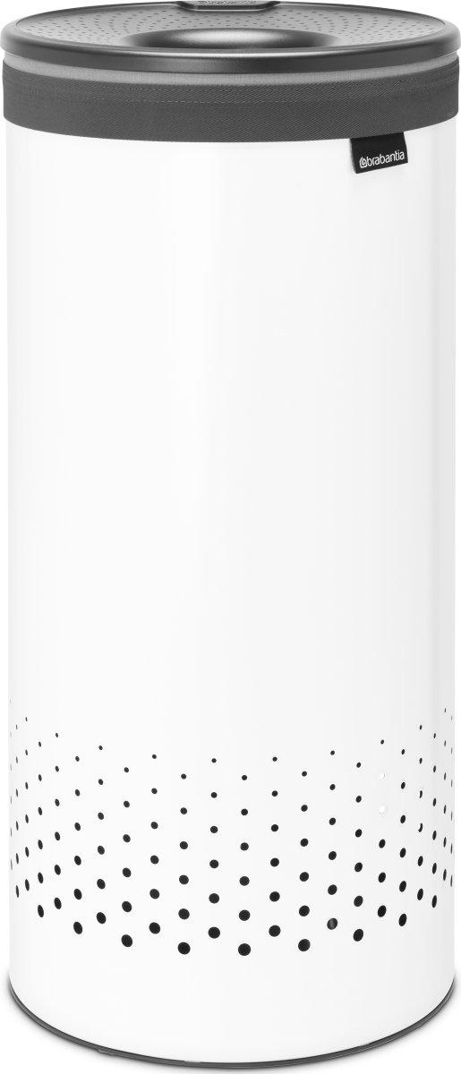 Brabantia vasketøjskurv, 35 l., hvid