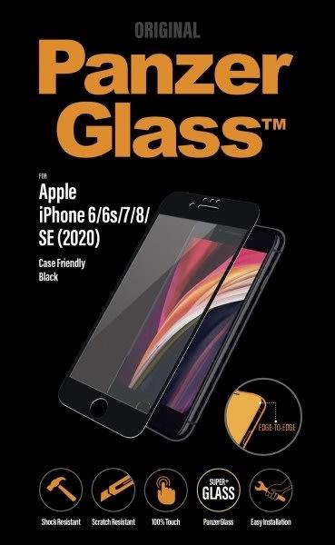 PanzerGlass iPhone SE (2020) Case Friendly, sort