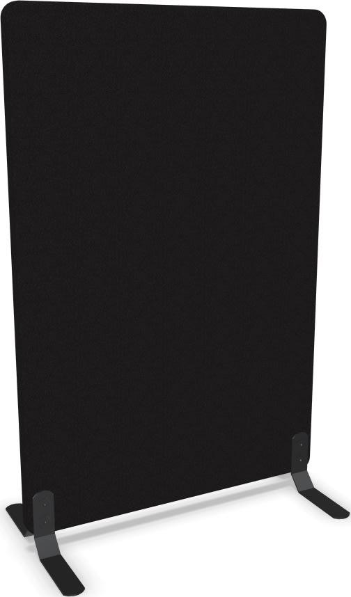 Screenit A30 skærmvæg H120xB80 cm sort