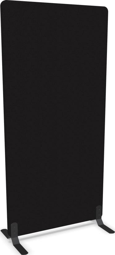 Screenit A30 skærmvæg H160xB80 cm sort