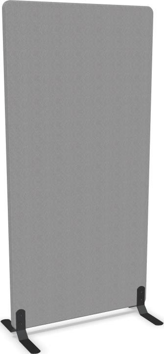 Screenit A30 skærmvæg H160xB80 cm lysegrå