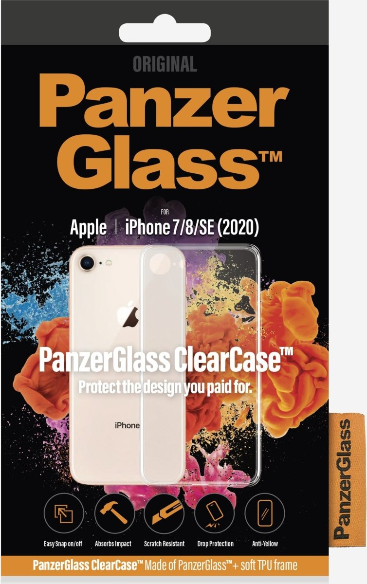 Panzerglass ClearCase cover, iPhone 7/8/SE (2020)