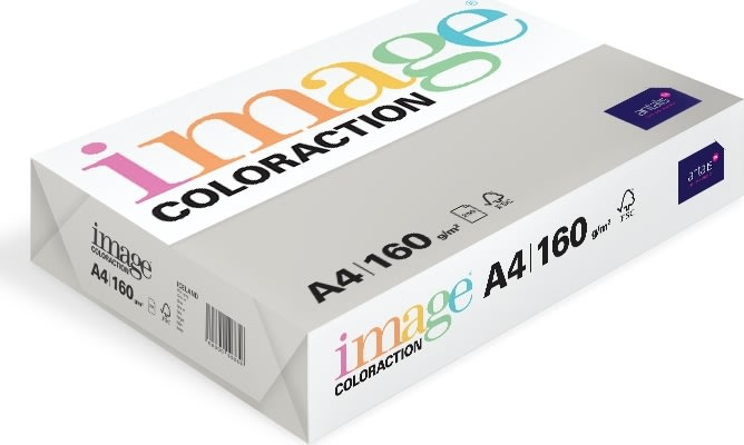 Image Coloraction A4, 160g, 250ark, lysegrå
