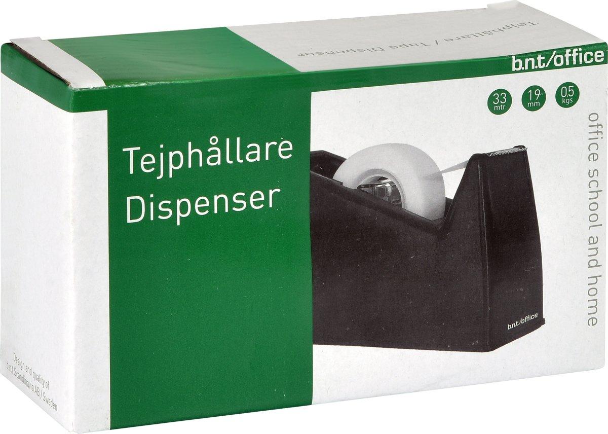 Office Tapedispenser | 33 m | Sort