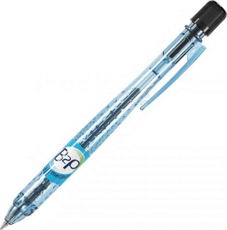 Pilot Begreen Bottle 2 Pen kuglepen, medium, sort