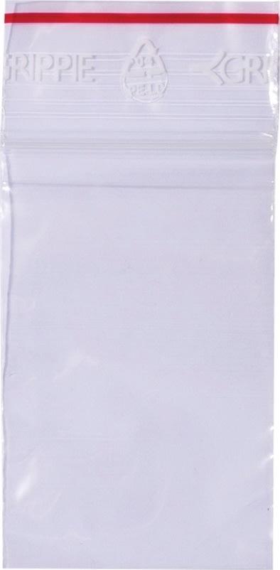 Lynlåspose uden skrivefelt 40x60mm, 1000stk