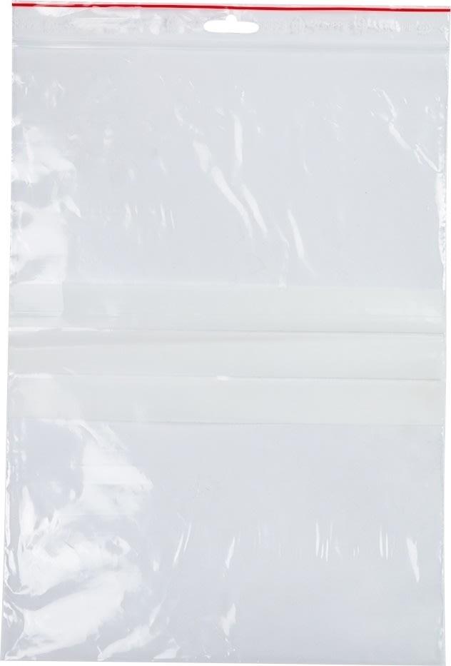Lynlåspose med skrivefelt 230x320mm 1000 Stk.