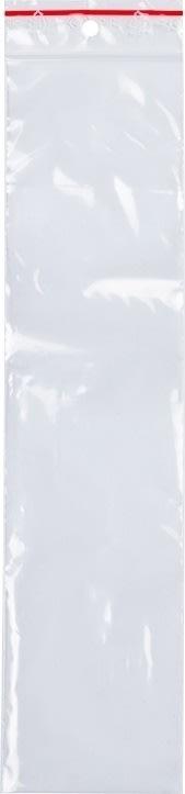 Lynlåspose uden skrivefelt 60x250mm, 1000stk