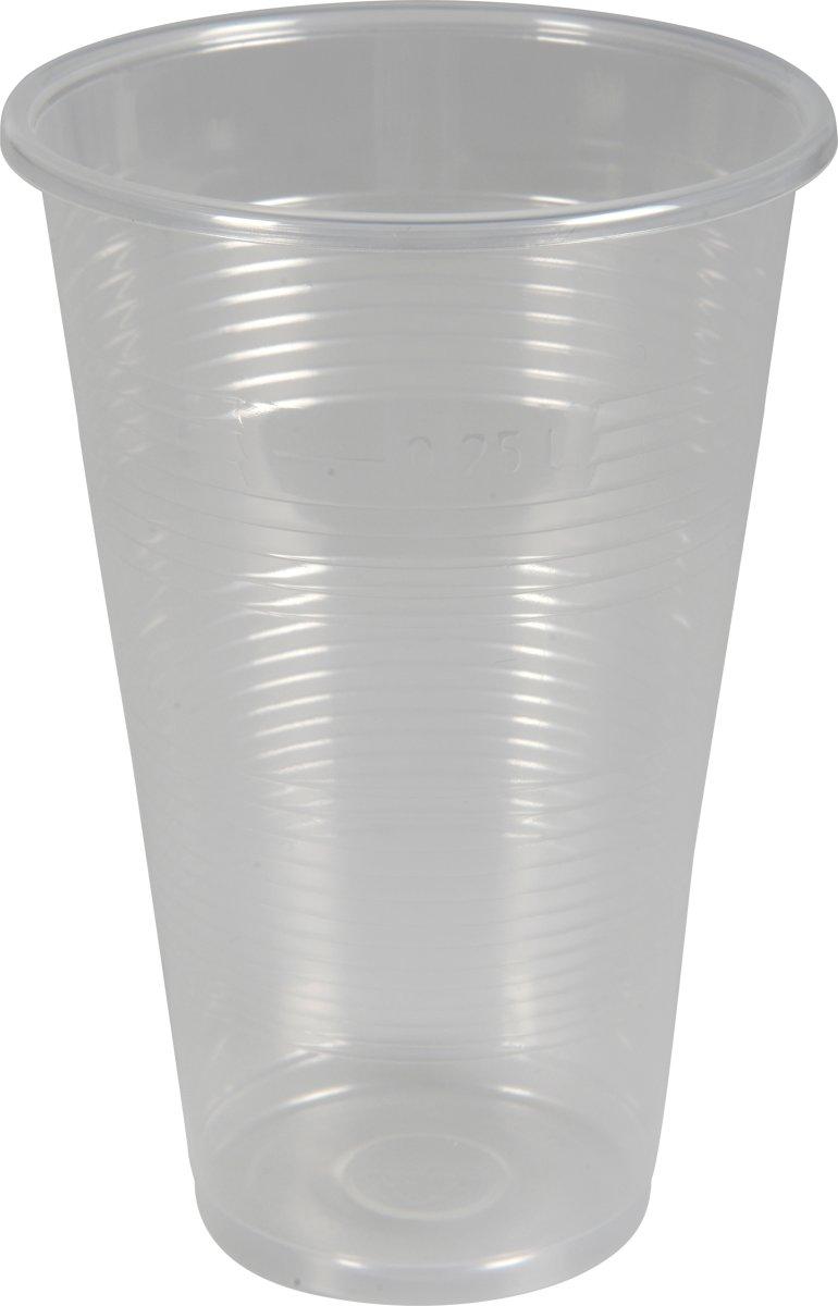 Plastglas 30 cl, slank