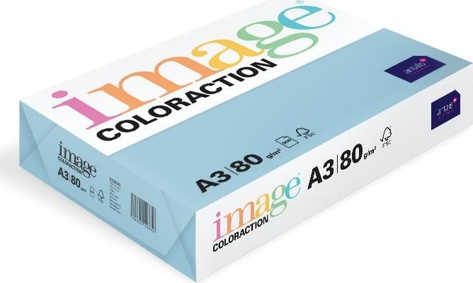 Image Coloraction A3, 80g, 500ark, oceanblå