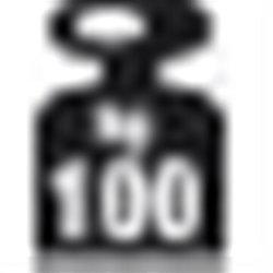 META Clip 100 kg, 100x40, 1 x hylde, Galvanis