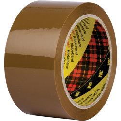3M Scotch Pakketape 50 mm, PP, brun