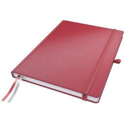 Leitz Complete notesbog A4, kvadreret, rød