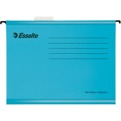 Esselte Classic hængemappe A4, blå
