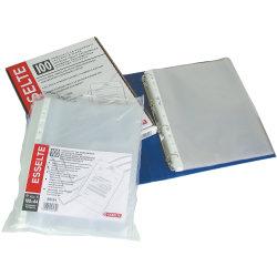 Esselte Premium plastlomme A4, top, 0,09mm