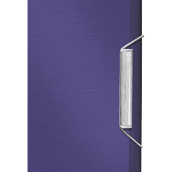 Leitz Style projektmappe, blå