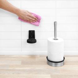 Brabantia Toiletrulle dispenser t/væg, blank stål