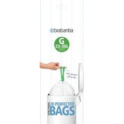 Brabantia Affaldspose G, 23-30 liter, 20 stk.