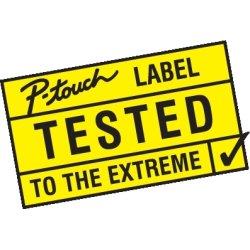 Brother PT-E550WSP labelprinter inkl. 4 TZe-tape