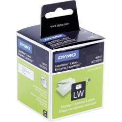 Dymo lW hængemappetiket 12x50 mm