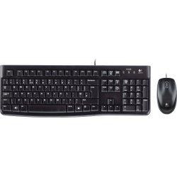 Logitech MK120 kablet mus/tastatursæt