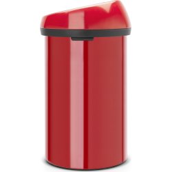 Brabantia Touch Bin 60 L, passion red