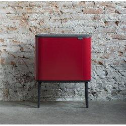 Brabantia BO Touch Bin 36 L, passion red