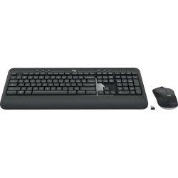 Logitech MK540 trådløst tastatur og mus, sort
