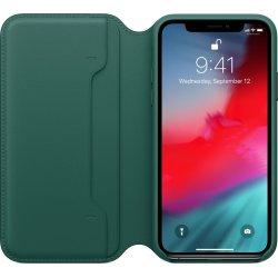 Apple cover til iPhone Xs i læder, skovgrøn