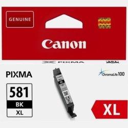 CLI-581XL black ink cartridge blistered w/alarm