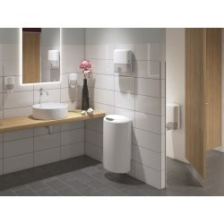 Tork T6 Twin Dispenser toiletpapir, hvid