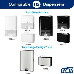 Tork H2 Xpress Premium Håndklædeark, 3-fold, 21 pk