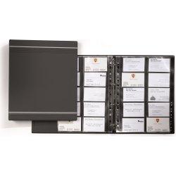 Durable Visifix visitkortmappe til 400 kort, grå