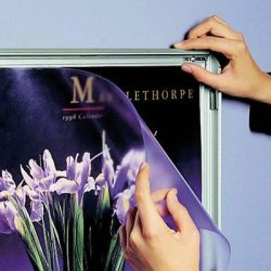 Alu Plakatramme, 45mm Snap-frame, 70x100, Sølv