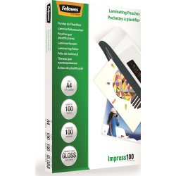 Fellowes Impress 100 mic A4 lamineringslomme gloss