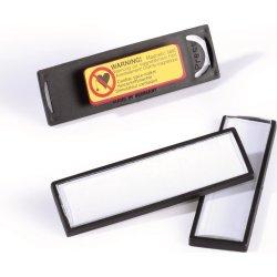 Durable Navneskilt m. magnet 17x67 mm, 25 stk.
