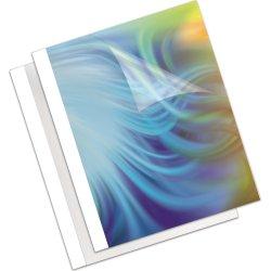 Fellowes Standard Thermal Binding cover, 4mm, hvid