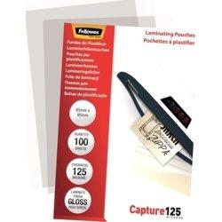 Fellowes Capture 125 mic 65x95 mm Lamineringslomme