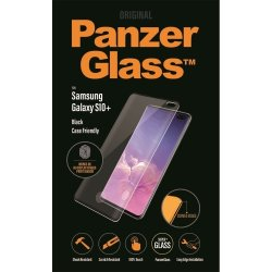 PanzerGlass Samsung Galaxy S10+ sort, CaseFriendly